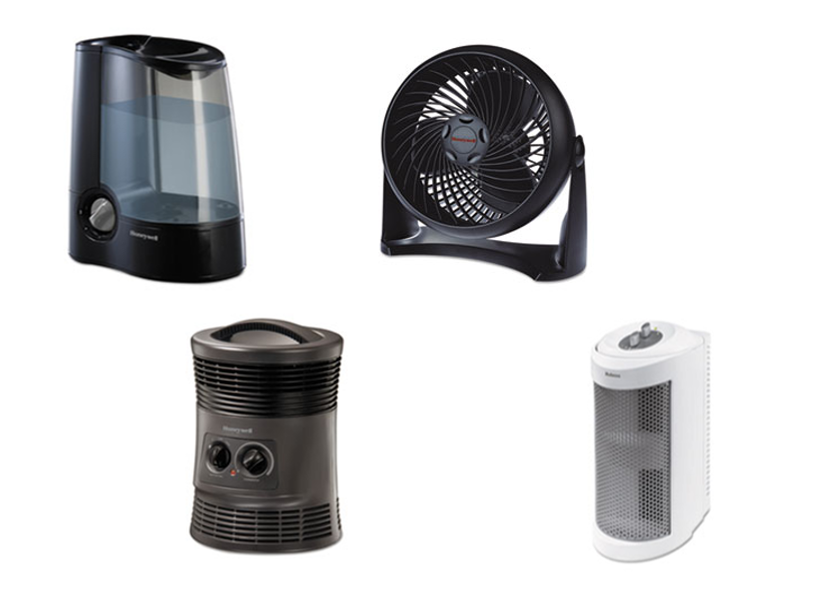 AIR CLEANERS, FANS, HEATERS &
