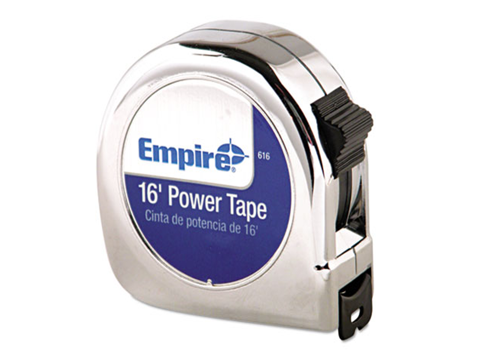 "EMPIRE LEVEL POWER TAPE MEASURE, 3/4"" X 16FT, METAL"