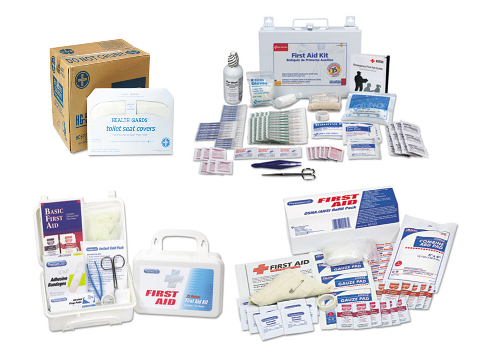 FIRST AID & HEALTH SUPPLIES
