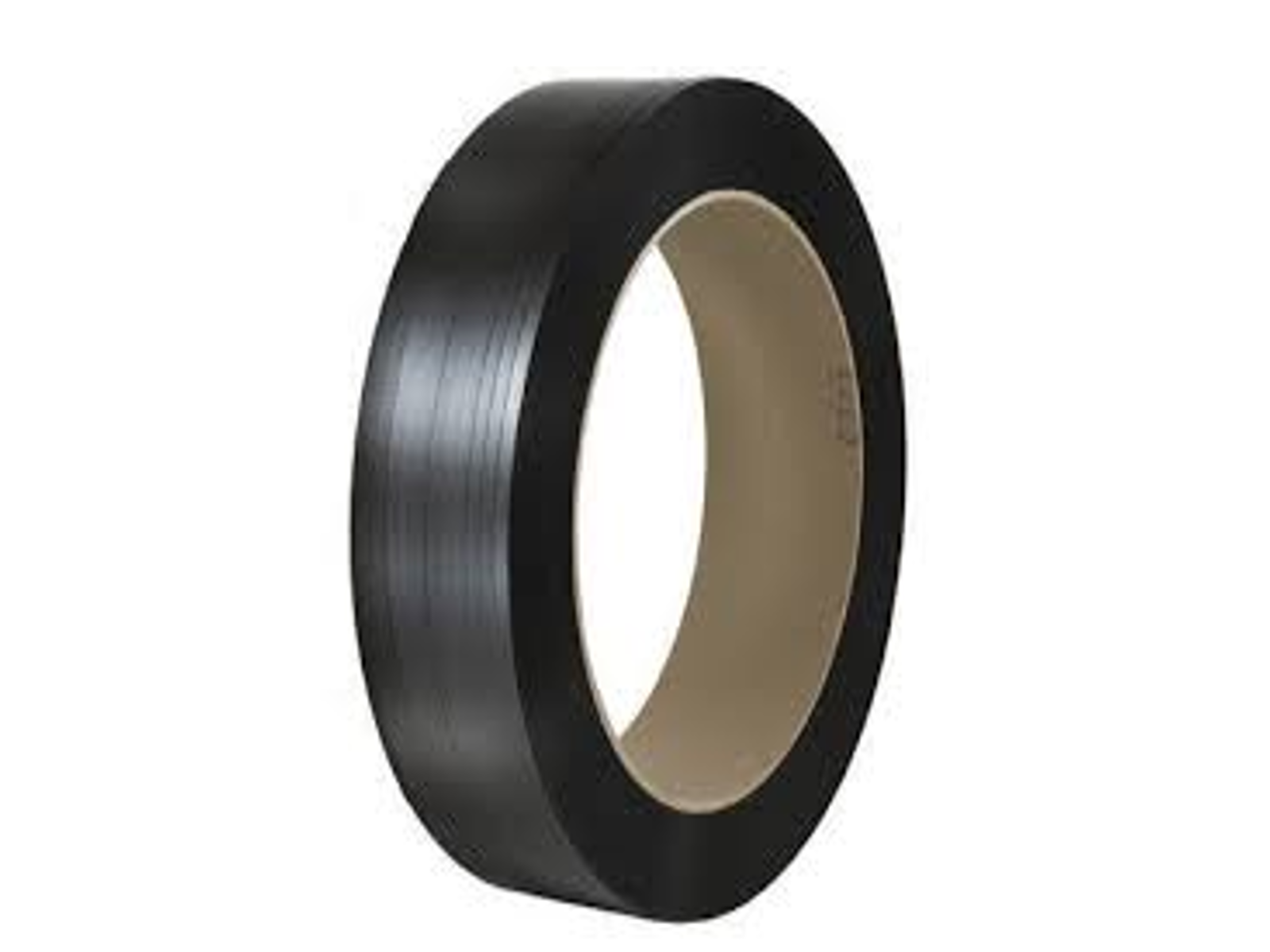 "POLYESTER PLASTIC STRAPPING 5/8"" .035 16X6 BLACK 4200'"