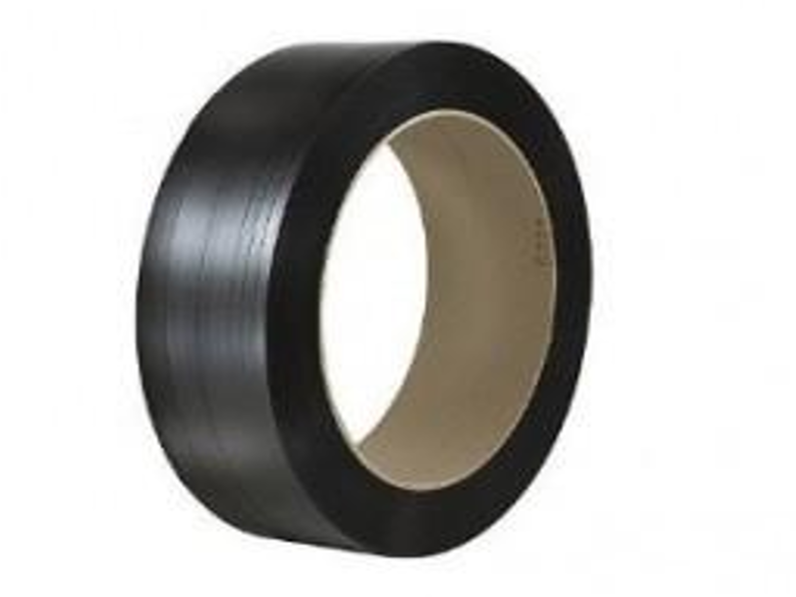 "POLYESTER PLACTIC STRAPPING 1"" X .050 BLACK"